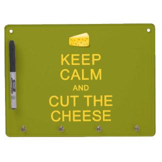 Keep Calm & Cut The Cheese custom message boards