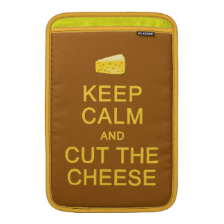 Keep Calm & Cut The Cheese custom sleeves