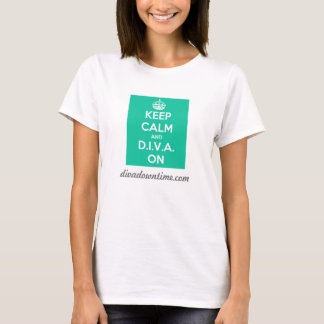 Keep Calm D.I.V.A. T-Shirt