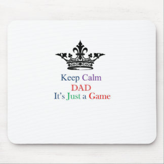 Keep Calm Dad Mouse Pad