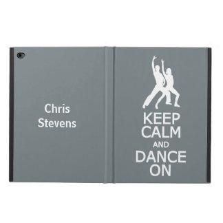 Keep Calm & Dance On custom name & color cases Powis iPad Air 2 Case