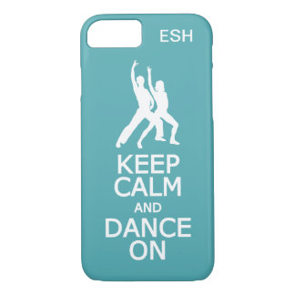 Keep Calm & Dance On custom phone cases