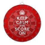 Keep Calm Dart Board Sets
