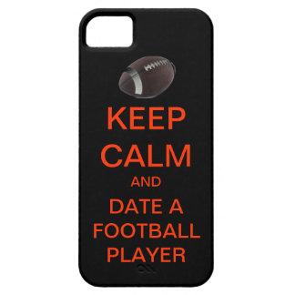 KEEP CALM Date A Football Player Mod iPhone Case