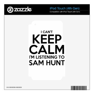 keep calm decals for iPod touch 4G