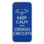 Keep Calm Design Circuits Covers For iPhone 5