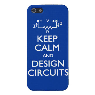 Keep Calm Design Circuits iPhone 5 Cases