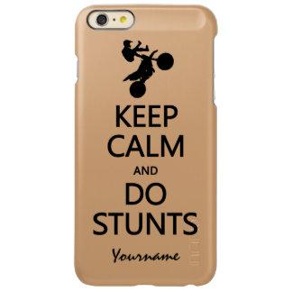 Keep Calm & Do Stunts custom cases