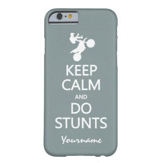 Keep Calm & Do Stunts custom color cases