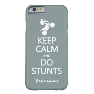 Keep Calm & Do Stunts custom color cases Barely There iPhone 6 Case