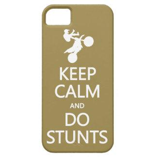 Keep Calm & Do Stunts custom color iPhone case