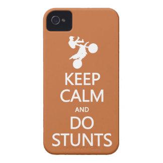 Keep Calm & Do Stunts custom color iPhone case-mat Case-Mate iPhone 4 Case