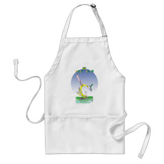 keep calm + don't loose your head, tony fernandes adult apron