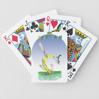 keep calm + don't loose your head, tony fernandes bicycle playing cards