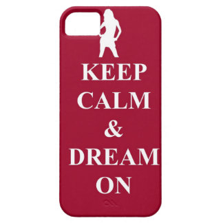 Keep calm & dream on iPhone SE/5/5s case