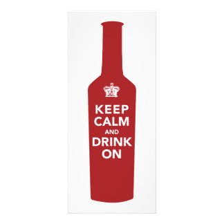 Keep Calm Drink 30th Birthday Party Invitation