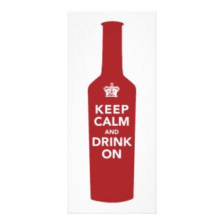 Keep Calm Drink 60th Birthday Party Invitation
