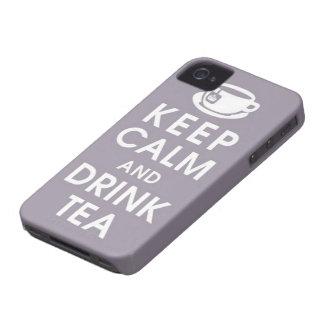 Keep Calm & Drink Tea iPhone4/4S Case