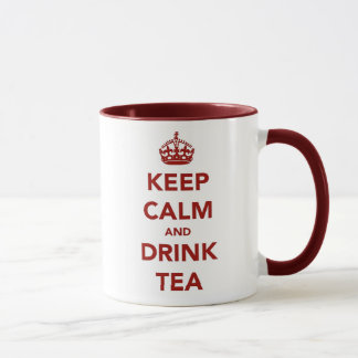 Keep Calm, Drink Tea Mug