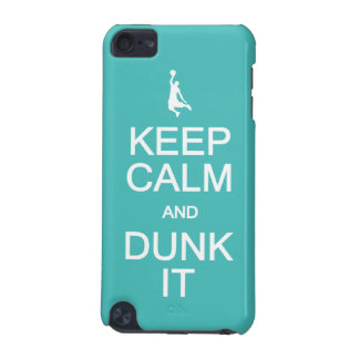 Keep Calm & Dunk It custom cases