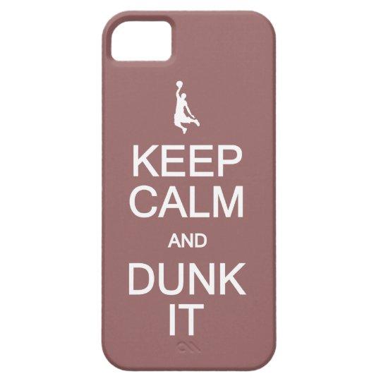 Keep Calm & Dunk It custom color iPhone case