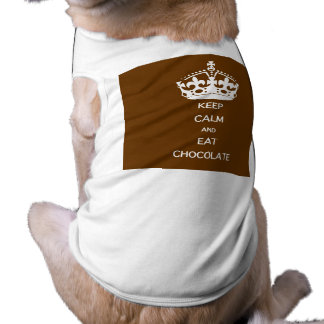 KEEP CALM  EAT  CHOCOLATE SHIRT