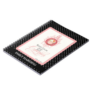 Keep Calm & Eat Cupcakes - Fashion Trendy Chic Notebooks