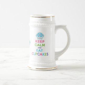 Keep Calm Eat Cupcakes  - Stein