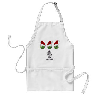 Keep Calm & Eat Sprouts Apron