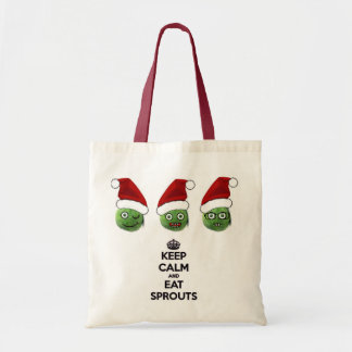 Keep Calm & Eat Sprouts Bags