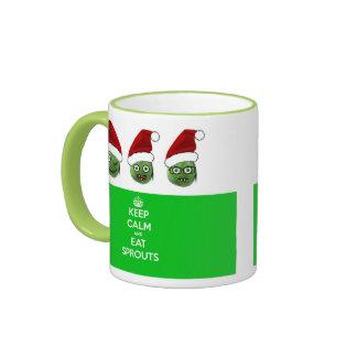 Keep Calm & Eat Sprouts Mug