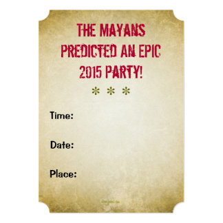 KEEP CALM Epic Myan Summer Party Invitation