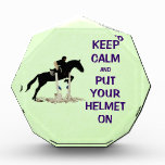 Keep Calm Equestrian Horse Award