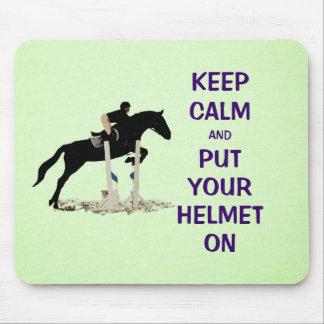 Keep Calm Equestrian Horse Mousepad
