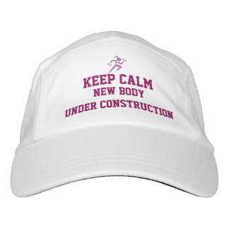 Keep Calm- Fitness Exercise Goal Hat