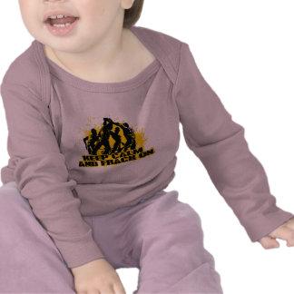 Keep Calm Frack On Tee Shirts