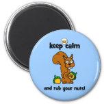 keep calm fridge magnet
