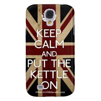 Keep Calm Galaxy S4 Cover