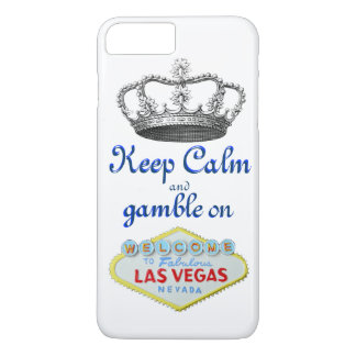 Keep Calm Gamble On Las Vegas iPhone 7 Plus Case