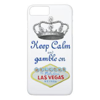Keep Calm Gamble On Las Vegas iPhone 8 Plus/7 Plus Case