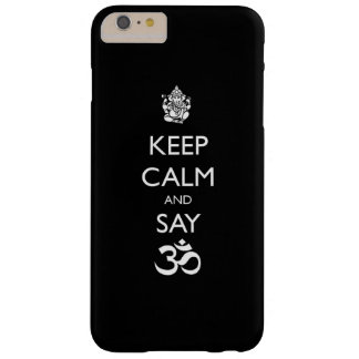 keep calm ganesh barely there iPhone 6 plus case