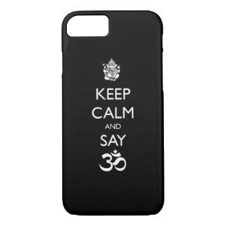 keep calm ganesh iPhone 7 case