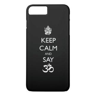 keep calm ganesh iPhone 8 plus/7 plus case