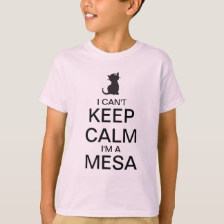 Keep Calm  | Girl Kitty T-Shirt