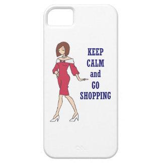 KEEP CALM GO SHOPPING iPhone 5 COVERS
