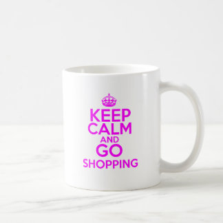 Keep Calm & Go Shopping Coffee Mug