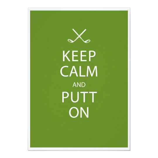 Keep calm golf 70th birthday invitation zazzle keep calm golf 70th birthday invitation filmwisefo