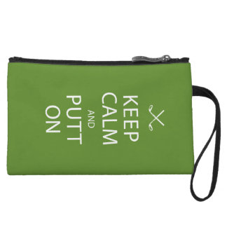 Keep Calm - Golf Gift Wristlet Wallet
