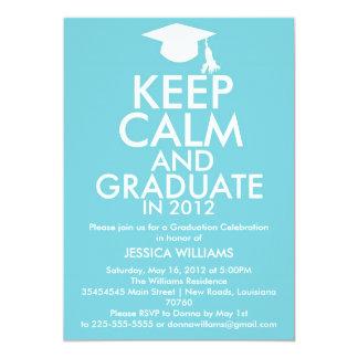 Keep Calm Graduation Card