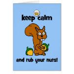 keep calm greeting cards
